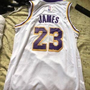 Nike Shirts - White lebron James lakers jersey multiple sizes afbb40f7e